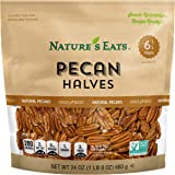 Nature's Eats Pecan Halves, 24 Ounce