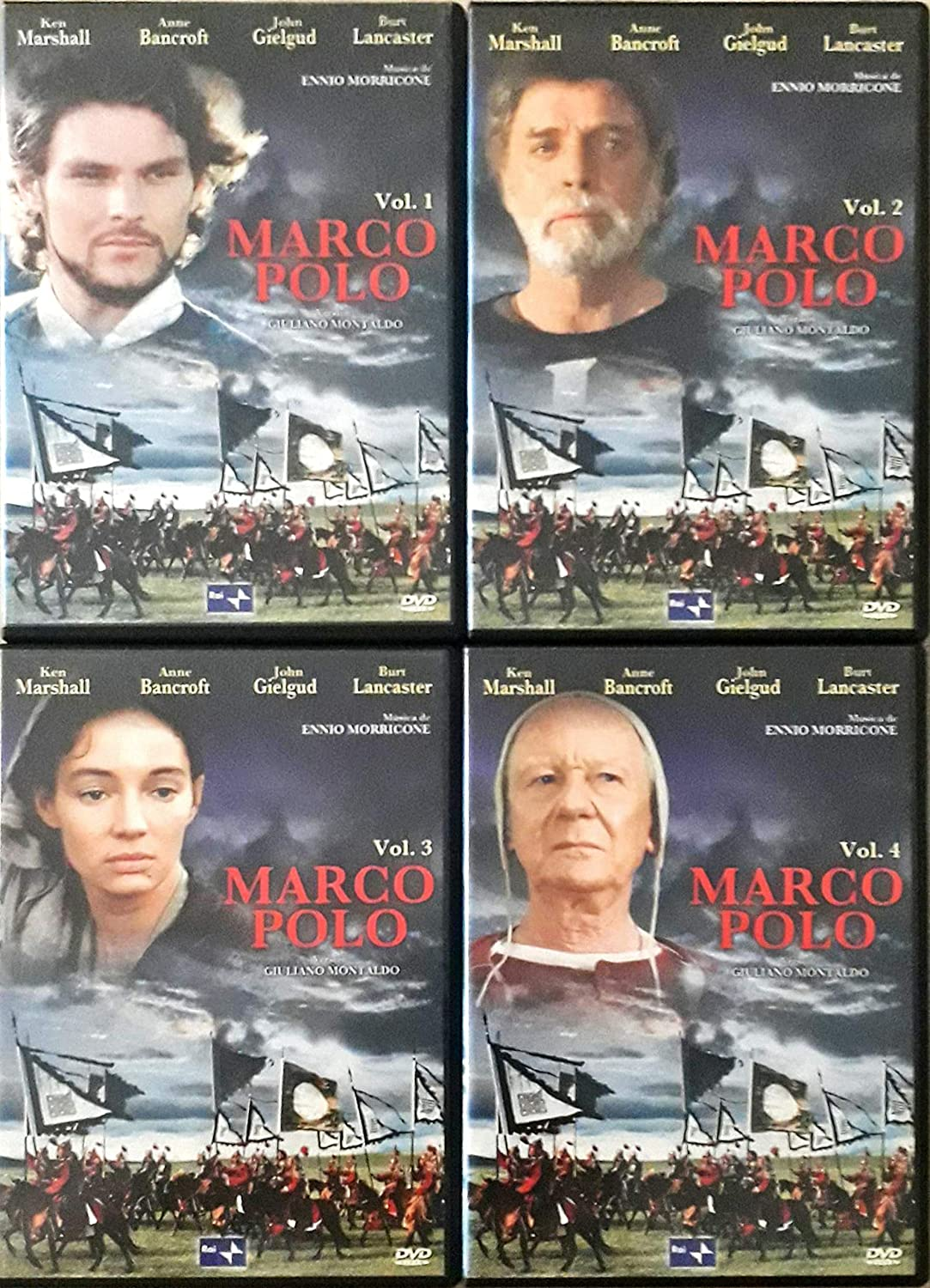 Marco Polo (Miniserie de TV) Vol 1,2,3 y 4: Amazon.es: Burt ...