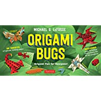Origami Bugs Kit: Origami Fun for Everyone!: Kit with 2 Origami Books, 20 Fun Projects and 98 Origami Papers: Great for…