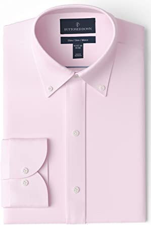 Marca Amazon - Buttoned Down Camisa Hombre