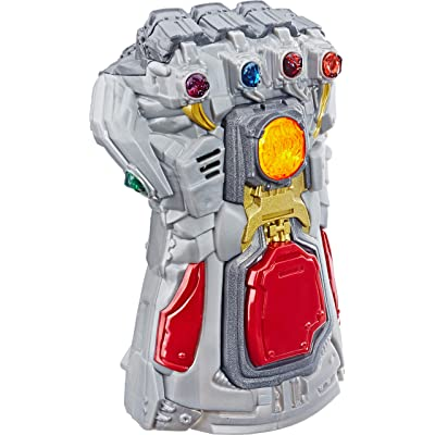 Avengers Marvel Endgame Electronic Fist Roleplay Toy with Lights & Sounds for Kids Ages 5 & Up: Toys & Games