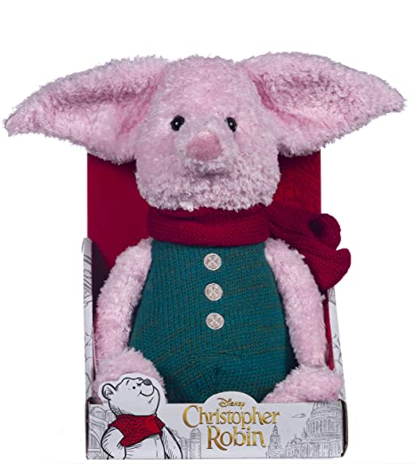 Posh Paws 37468 Christopher Robin Collection Winnie the Pooh Piglet Soft Toy