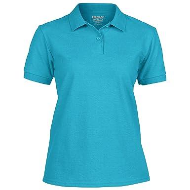 Gildan - Polo - para mujer azul celeste XL: Amazon.es: Ropa y ...