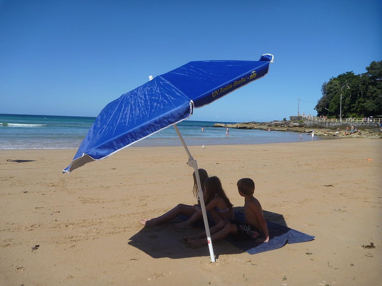 Antivento//Impermeabile//Portatile OD-B Ombrellone da Sole//Pesca//Spiaggia Asta Regolabile per Lancoraggio//Sabbia Ombrello Robusto per Cortile//Patio//Parco//Shadezilla//Giardino Anti-UV