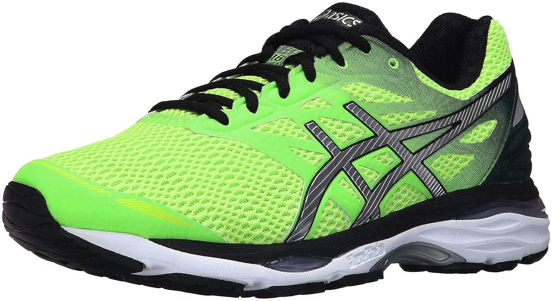 Green Gecko Silver Safety Yellow 12.5 D(M) US ASICS Mens GelCumulus 18 Running shoes