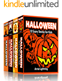 HALLOWEEN BOOK BUNDLE (4 Books in 1): Scary Stories for Kids and Halloween Jokes (Spooky Halloween Stories)
