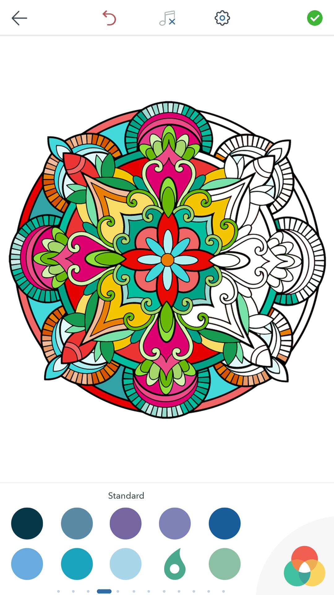 Paginas Para Colorear Mandalas Apk