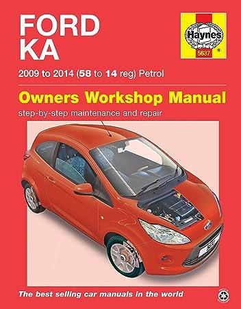 Ford Ka Repair Manual Haynes Manual Service Manual Workshop Manual