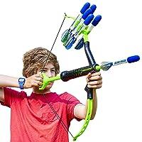 Marky Sparky Faux Bow - Shoots Over 100 Feet - Foam Bow & Arrow Archery Set (Lizardite)