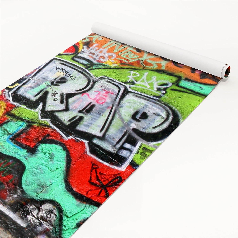 Klebefolie Kinderzimmer - Graffiti Wall - Selbstklebefolie - Dekorfolie - Möbelaufkleber - DIY Designfolie - Sticker