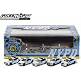 GreenLight Collectibles NYPD Diorama 5 Die-Cast Car (1:64 Scale)