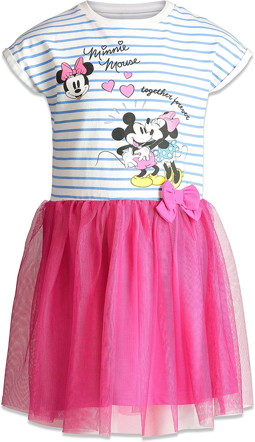 Disney Baby Girls Minnie Mouse Tulle Dress 12-24m