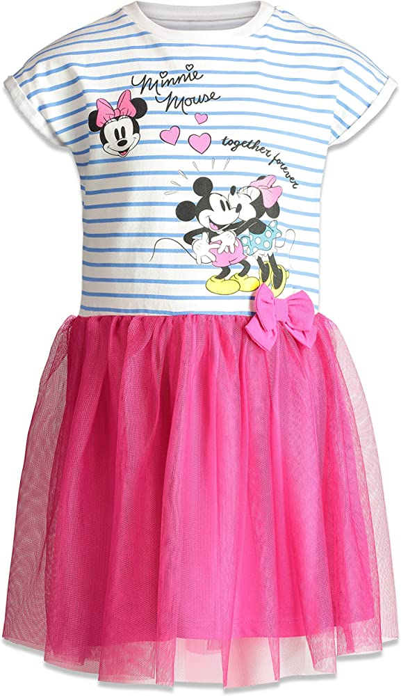 NEW Baby Girl Short Sleeve Minnie Mouse Top T-shirt /& Skirt SET 6-12m Size 0