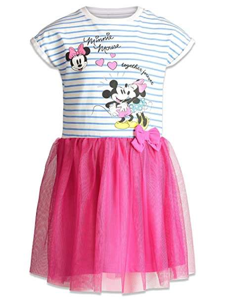 510fb60e3 Amazon.com: Disney Little Girls' Minnie Tulle Dress: Clothing