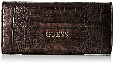 Guess Geldbeutel bronze: : Schuhe & Handtaschen