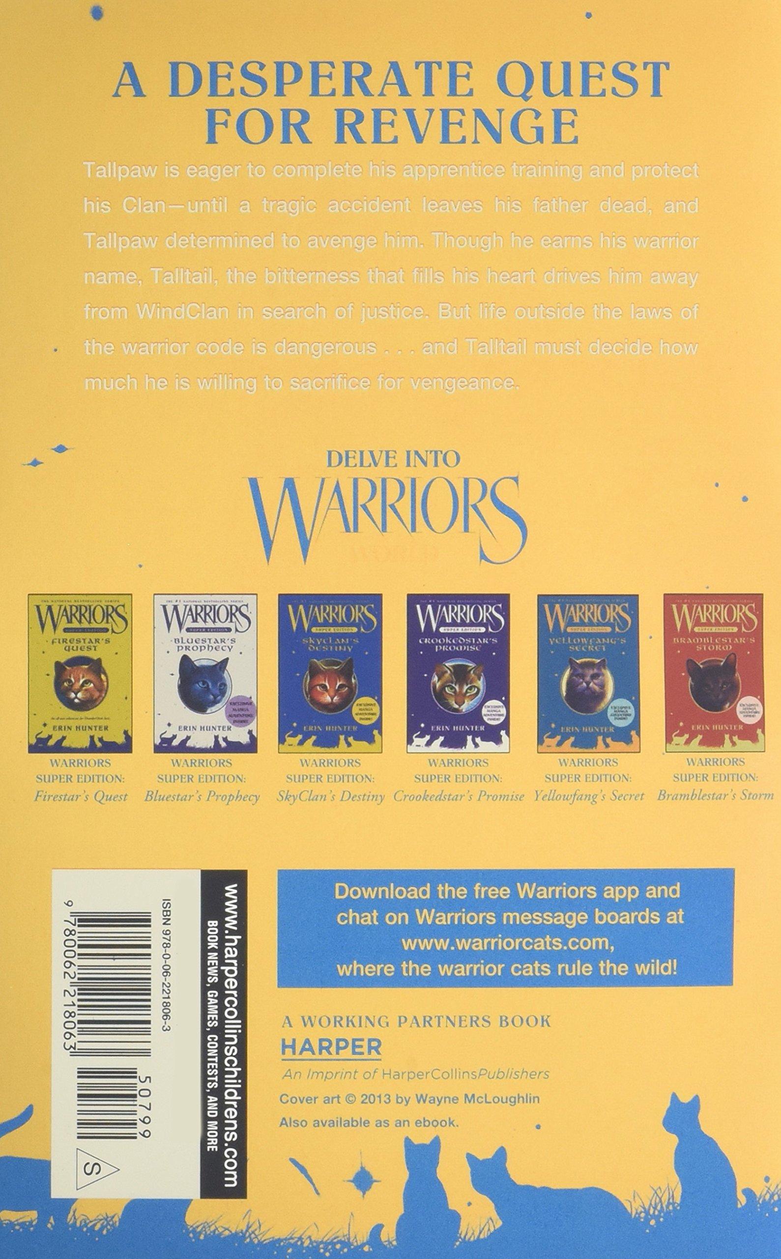 Warriors Super Edition: Tallstar's Revenge: Erin Hunter, James L Barry:  9780062218063: Amazon: Books
