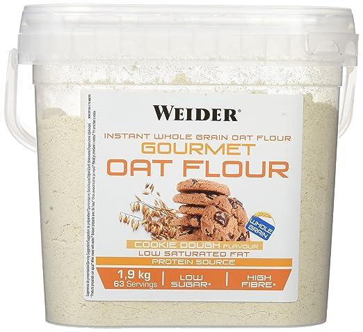 WEIDER Oat Gourmet Flour (Harina de Avena) Cookie Dough 1,9 kg: Amazon.es: Salud y cuidado personal