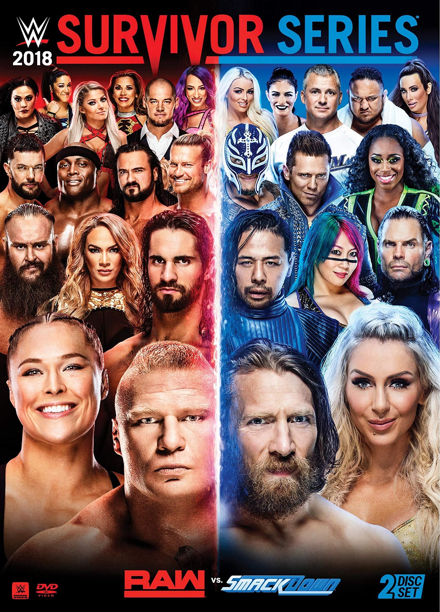 DVD : Wwe: Survivor Series 2018 (Amaray Case, 2 Pack)