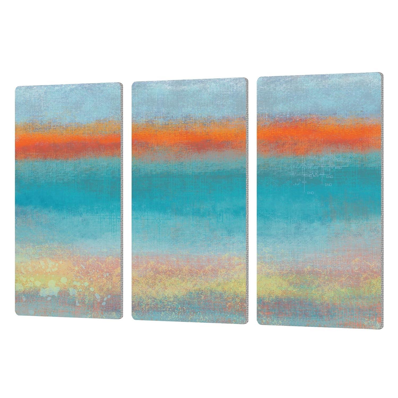 ArtWall Jan Weisss Outer Limits 2 Art Metalz 3 Piece Aluminum Print Set Artwork 24 x 36