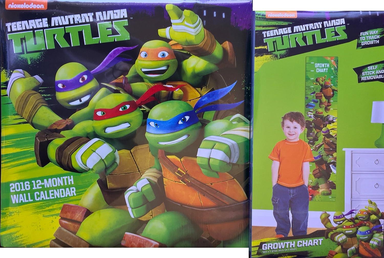 Amazon.com: Teenage Mutant Ninja Turtles 2016 Small Wall ...