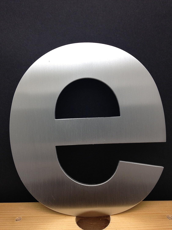 Casa moderna letras - 15,24 cm acero inoxidable cepillado ...