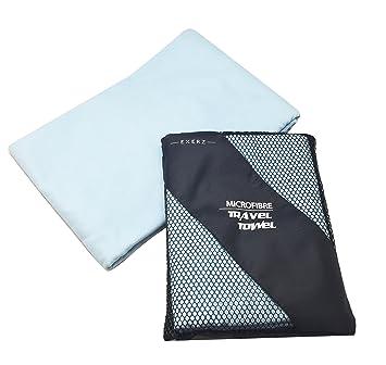Exerz Micro - XL 150x85 cm Toallas deportivas / Toallas de gimnasio con una bolsa de