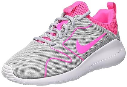 4f472eb2bfad Nike Women s Kaishi 2.0 Wolf Grey Pink Black White Running Shoe 7 Women US