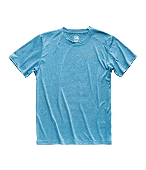 18541c814790 The North Face Men's HyperLayer FD Short Sleeve Crew, Crystal Teal Heather,  ...