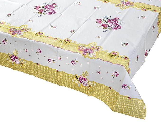 6 opinioni per Talking Tables Pretty floreale copertura per tavolo, in microfibra, multicolore,