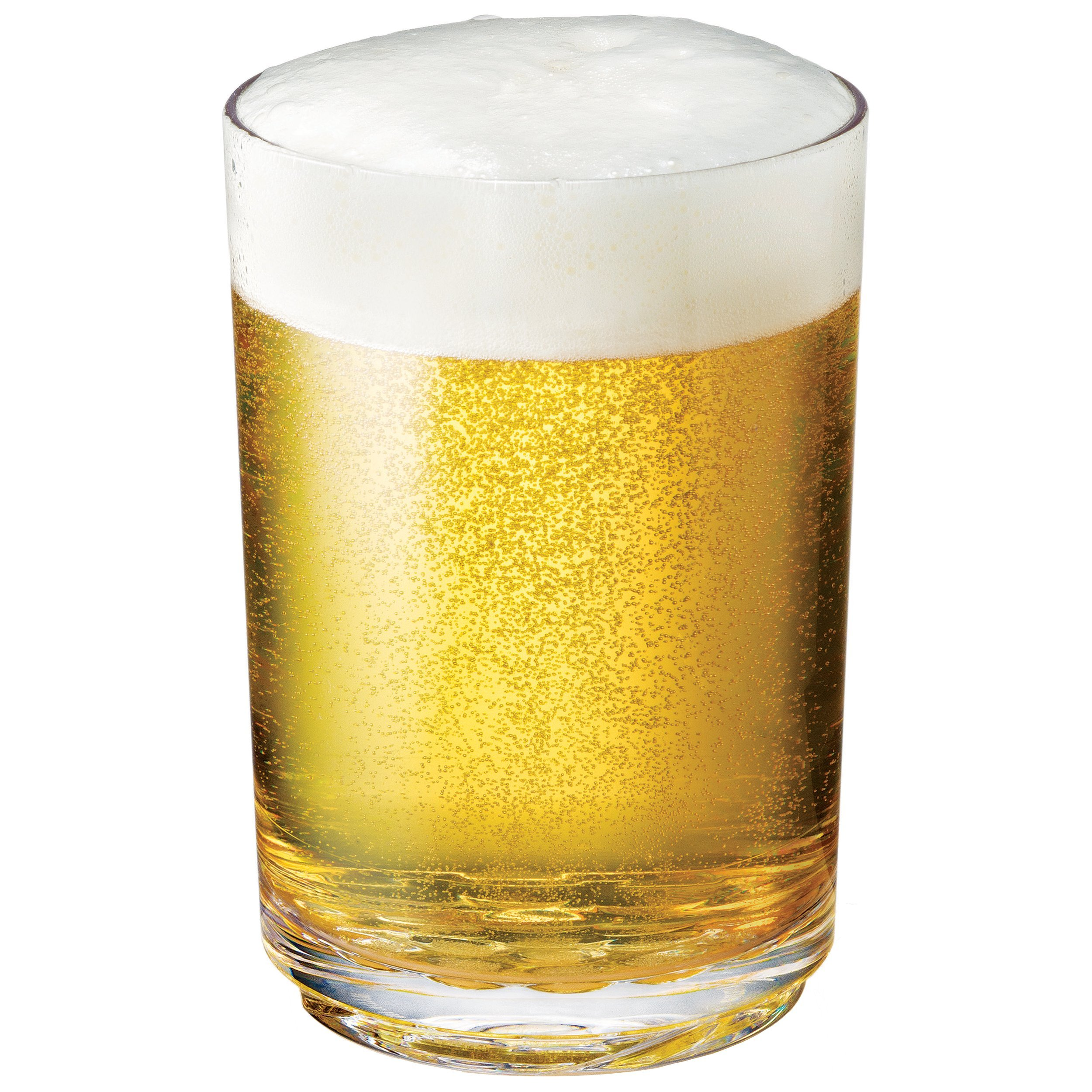 Drinique ELT-PT-CLR-4 Elite Pint Unbreakable Tritan Beer Glasses, 16 oz (Set of 4), Clear