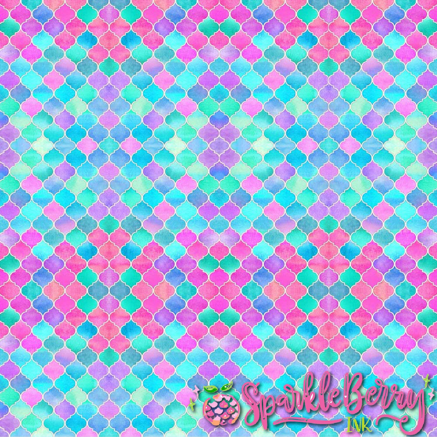 Sparkleberry Ink Siser Patterned HTV 12 by 4 Roll Autism Awareness