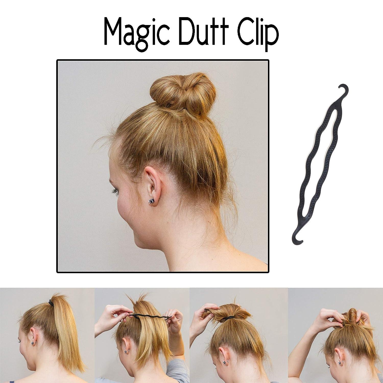 Original Dutt Maker Hilfe Für Lange Und Kurze Haare Geeignet 3x