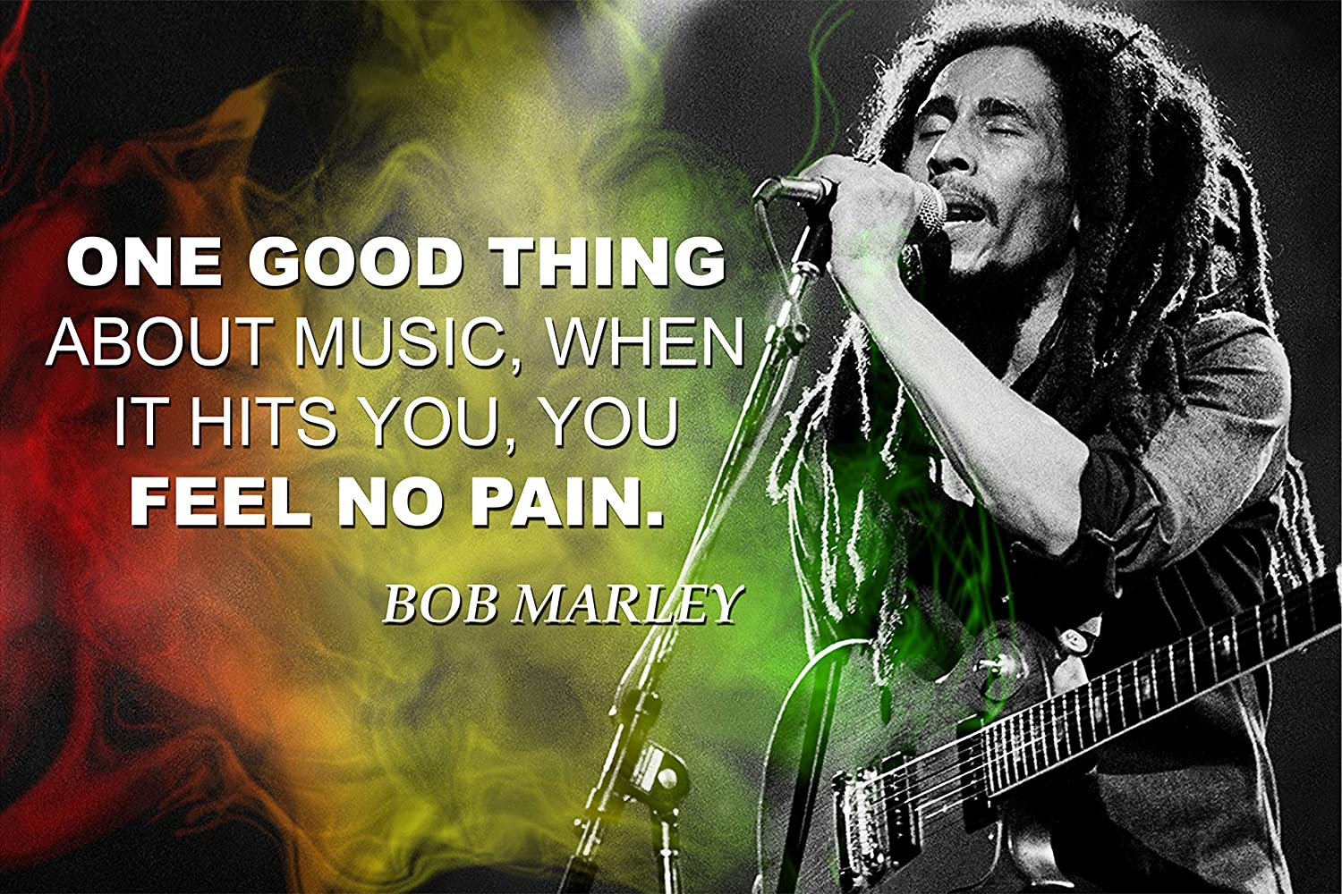 Bob Marley Quote Posters For Classroom Black History Month Poster Decorations School Classrooms Wall Art Decor Teaching Supplies Inspirational Motivational Teacher Educational Learning Mindsets P048