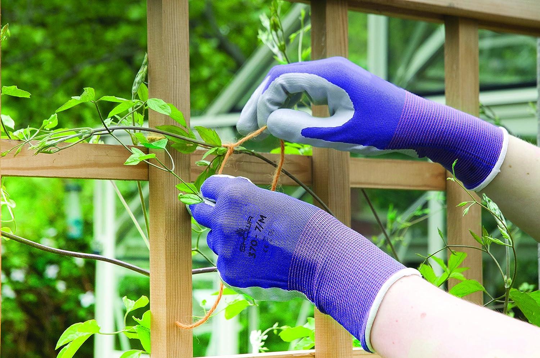 Spear /& Jackson Kew Gardens Collection 370M3KEW Multi-Purpose Gardening Gloves Medium Blue