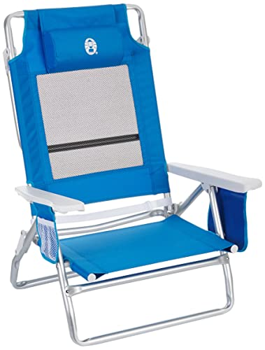 Coleman m293501 u2013 Beach Chair Low Recliner 5 Positions  sc 1 st  Amazon UK & Coleman m293501 - Beach Chair Low Recliner 5 Positions: Amazon.co ... islam-shia.org