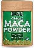 Organic Maca Powder (Raw) - 4oz Resealable Bag - 100% Raw From Peru - by Feel Good Organics