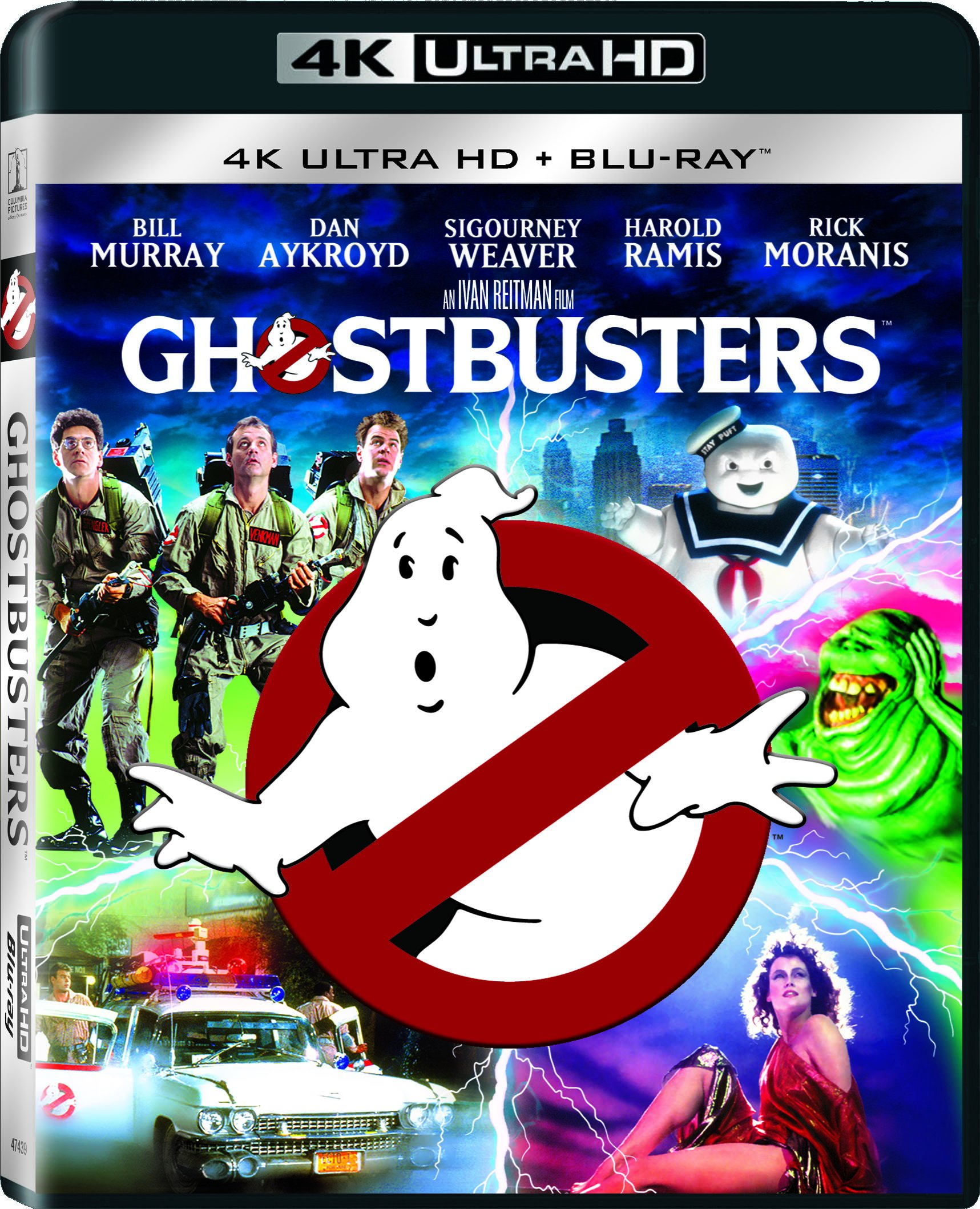 4K Blu-ray : Ghostbusters (With Blu-Ray, Ultraviolet Digital Copy, 2 Disc)