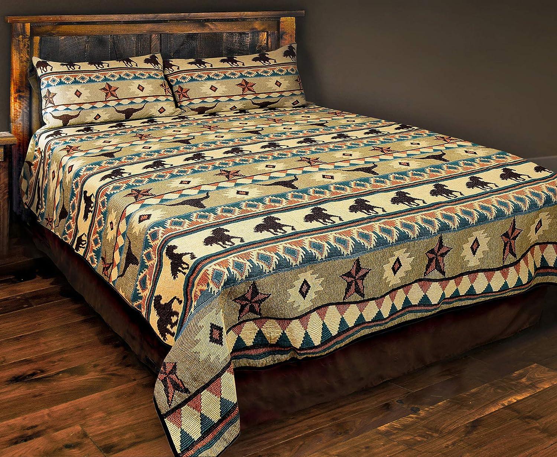 Western Aztec Navajo Native American Tribal Print Pillow Case Diamond Arrow Kinara Southwestern Bedding Queen Sham