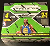 2018-19 PRIZM Basketball Box - 24 Packs/4 Cards Per Pack - 1 Autograph Per Box - 96 Total Cards - Possible LUKA DONCIC & TRAE YOUNG ROOKIE