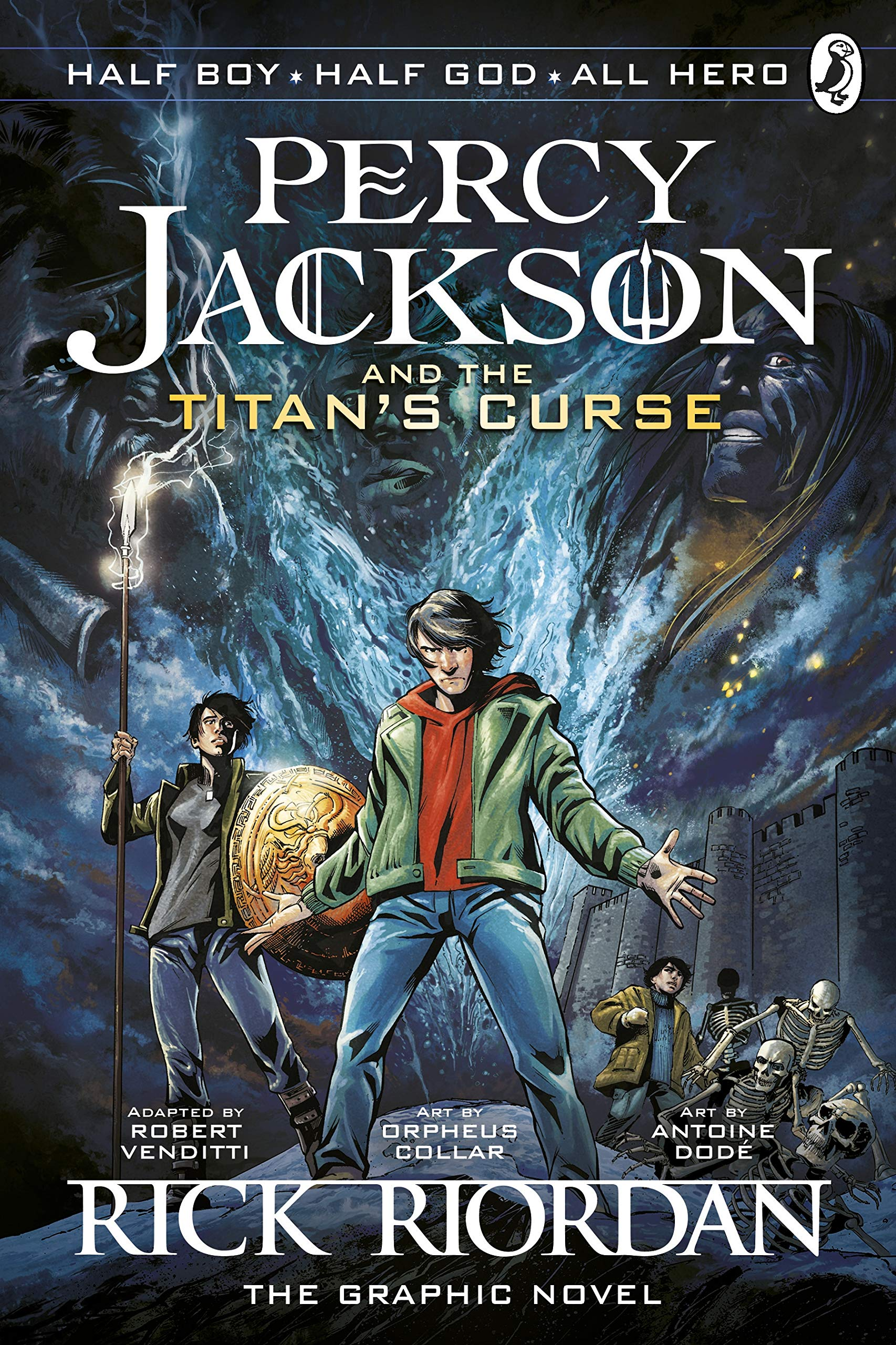 Image result for the titan's curse graphic novel book cover