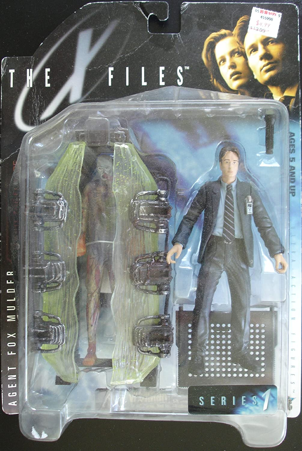 X FILES AGENT FOX MULDER SERIES 1 WITH MUMMY AND CRYPT CHINA