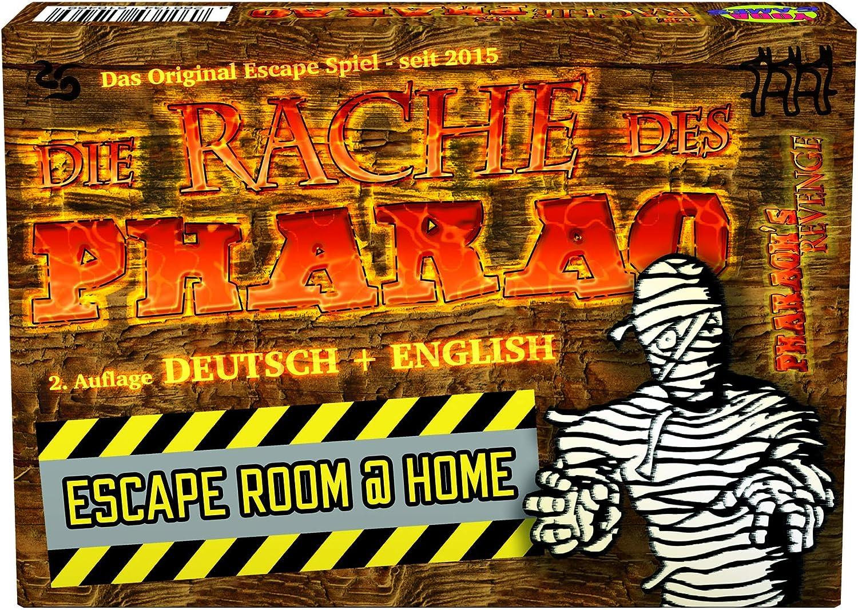 La venganza del Faraón – Escape Room parte: Amazon.es: Juguetes y ...