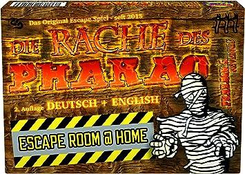 La venganza del Faraón – Escape Room parte: Amazon.es: Juguetes y juegos
