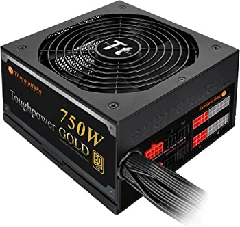 Thermaltake 750W 80 Plus Gold Power Supply
