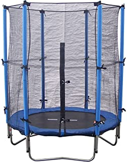 Super Jumper Combo Trampoline, Blue, 10-Feet