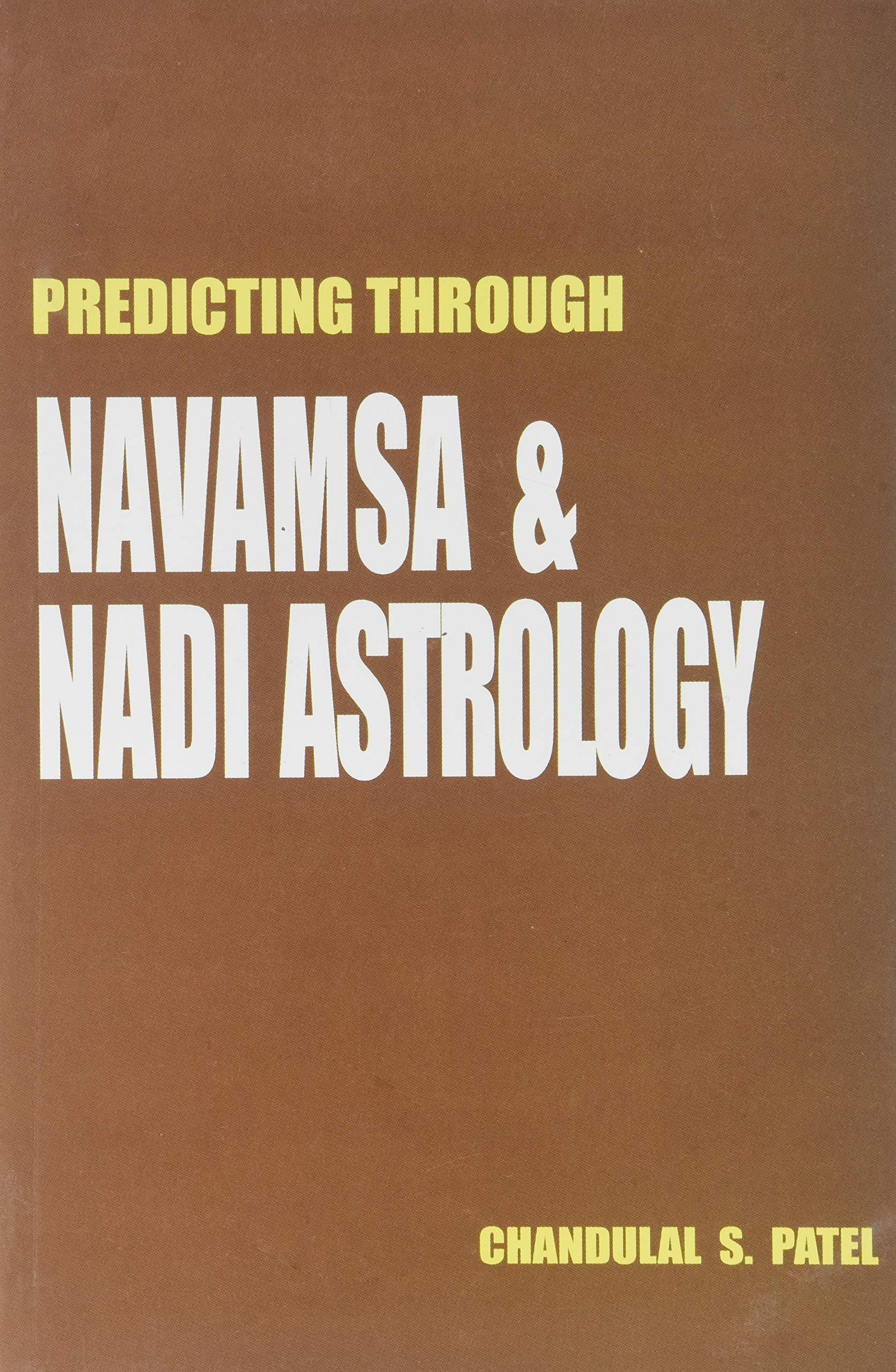 Buy Predicting Through Navamsa and Nadi Astrology Book