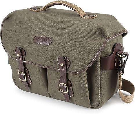Billingham Hadley One CameraLaptop Bag (Sage FibreNyteChocolate Leather)