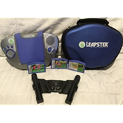 Leapster Multimedia Learning System (Triangular Console, Colors May Vary): Toys & Games [5Bkhe0903724]