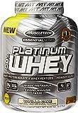 MuscleTech Platinum 100% Whey Protein Powder,  Vanilla Cake,  5.0 lbs (2.27kg)