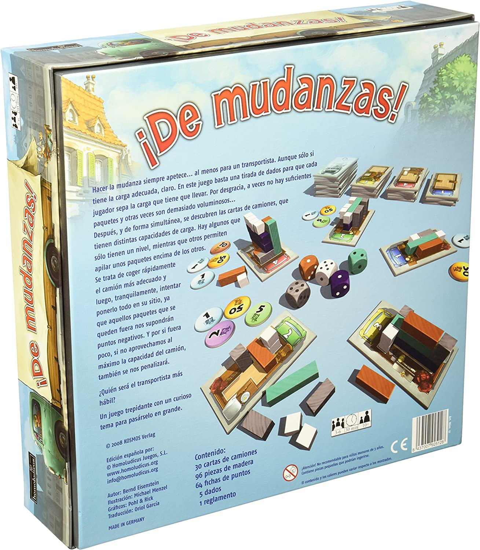 HomoLudicus - ¡De Mudanzas!, Juego de Mesa (925128): Amazon.es: Juguetes y juegos